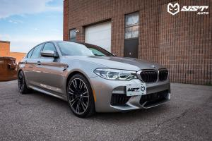 2018 BMW M5 Ceramic Coating by YST Auto